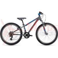 Bicicleta Cube Kid 240 action team grey 2018