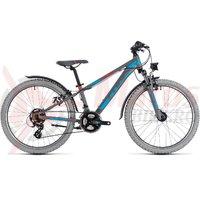 Bicicleta Cube Kid 240 Allroad grey/blue 2018