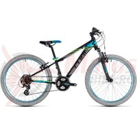 Bicicleta Cube Kid 240 black/blue 2018