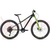 Bicicleta Cube Kid 240 SL black/green 2018