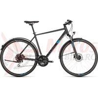Bicicleta Cube Nature Allroad Iridium/Blue 2019