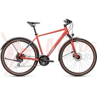 Bicicleta Cube Nature Allroad Red/Grey 28' 2021