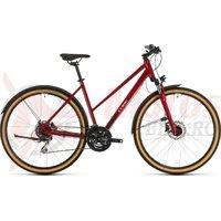 Bicicleta Cube Nature Allroad Trapeze Red/Grey 2020