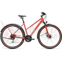 Bicicleta Cube Nature Allroad Trapeze Red/Grey 28' 2021