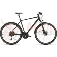 Bicicleta Cube Nature EXC Allroad Black/Red 2020