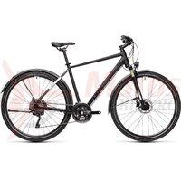 Bicicleta Cube Nature EXC Allroad Black/Grey 2021
