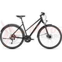 Bicicleta Cube Nature Exc Allroad Trapeze Black/Grey 2019