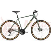 Bicicleta Cube Nature Exc Green/Black 2019