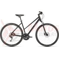 Bicicleta Cube Nature Exc Trapeze Black/Grey 2019