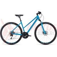 Bicicleta Cube Nature EXC Trapeze blue/blue 2018