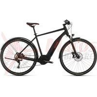 Bicicleta Cube Nature Hybrid EXC 500 Allroad black/red 2020