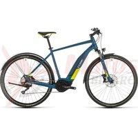 Bicicleta Cube Nature Hybrid EXC 500 Allroad blue/lime 2020