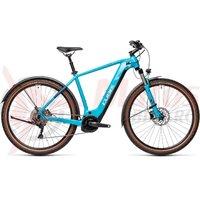 Bicicleta Cube Nature Hybrid EXC 500 Allroad Petrol/Darkblue 2021