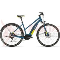 Bicicleta Cube Nature Hybrid EXC 500 Allroad Trapeze blue/lime 2020