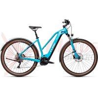 Bicicleta Cube Nature Hybrid EXC 500 Allroad Trapeze  Petrol/Darkblue 2021