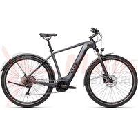 Bicicleta Cube Nature Hybrid EXC 625 Allroad Iridium/Black 2021
