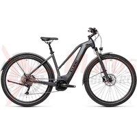 Bicicleta Cube Nature Hybrid EXC 625 Allroad Trapeze Iridium/Black 2021
