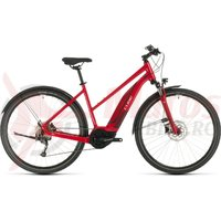 Bicicleta Cube Nature Hybrid One 400 Allroad Trapeze Red/Red 2020