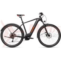 Bicicleta Cube Nature Hybrid One 500 Allroad Black/Red 2021