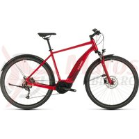 Bicicleta Cube Nature Hybrid One 500 Allroad Red/Red 2020
