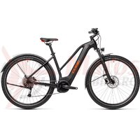 Bicicleta Cube Nature Hybrid One 500 Allroad Trapeze Black/Red 2021