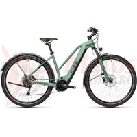 Bicicleta Cube Nature Hybrid One 500 Allroad Trapeze  Green/Sharpgreen 2021