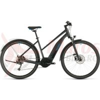 Bicicleta Cube Nature Hybrid One 500 Allroad Trapeze Iridium/Blue 2020