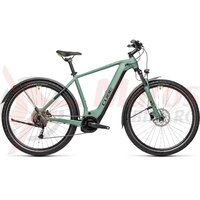 Bicicleta Cube Nature Hybrid One 625 Allroad Green/Sharpgreen 2021