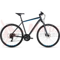 Bicicleta Cube Nature iridium/blue 2018