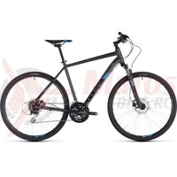 Bicicleta Cube Nature Iridium/Blue 2019
