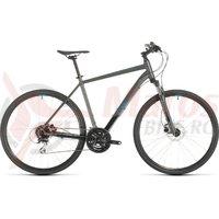 Bicicleta Cube Nature Iridium/Blue 2020