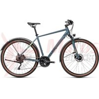 Bicicleta Cube Nature Pro Allroad Blue/Grey 2021