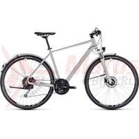 Bicicleta Cube Nature Pro Allroad bright grey/white 2018