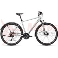 Bicicleta Cube Nature Pro Allroad Grey/Iridium 2021