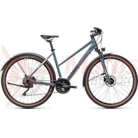 Bicicleta Cube Nature Pro Allroad Trapeze Blue/Green 2021