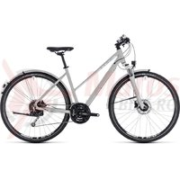 Bicicleta Cube Nature Pro Allroad Trapeze bright grey/white 2018