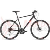 Bicicleta Cube Nature Pro Black/Red 2019