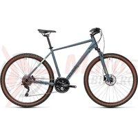 Bicicleta Cube Nature Pro Blue/Green 28' 2021
