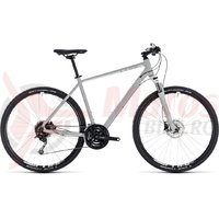 Bicicleta Cube Nature Pro bright grey/white 2018
