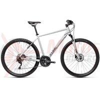 Bicicleta Cube Nature Pro Grey/Iridium 28