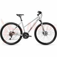 Bicicleta Cube Nature Pro Grey/Iridium 28' 2021