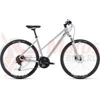 Bicicleta Cube Nature Pro Trapeze bright grey/white 2018
