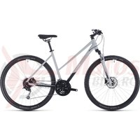 Bicicleta Cube Nature Pro Trapeze Grey/White 2020