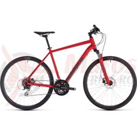 Bicicleta Cube Nature Red/Grey 2019