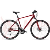 Bicicleta Cube Nature SL darkred/red 2018