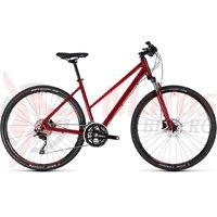 Bicicleta Cube Nature SL trapeze darkred/red 2018