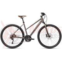 Bicicleta Cube Nature SL Trapeze Teak/Orange 2021