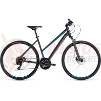 Bicicleta Cube Nature Trapeze iridium/blue 2018