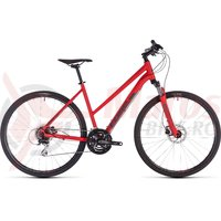 Bicicleta Cube Nature Trapeze Red/Grey 2019