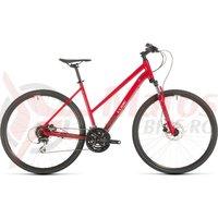 Bicicleta Cube Nature Trapeze Red/Grey 2020